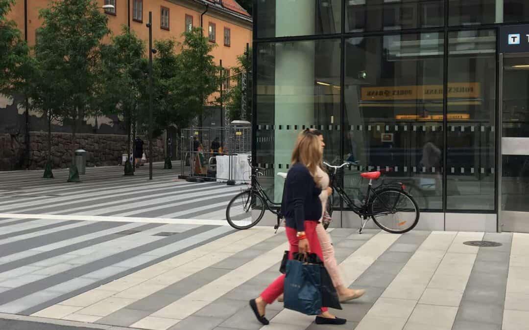 Klarabergsgatan is nominated to Swedish Transport Administration's architectural award!